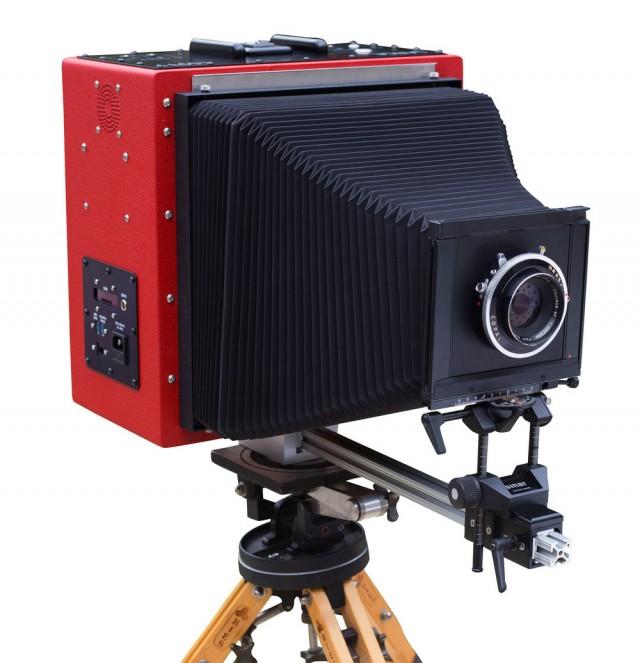 LargeSense LS911 – первая крупноформатная цифровая фотокамера