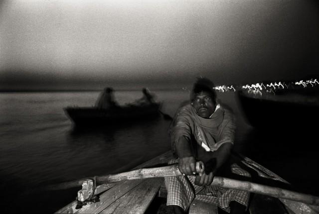 «Там, где течёт Ганг». Фотограф Ми Чжоу