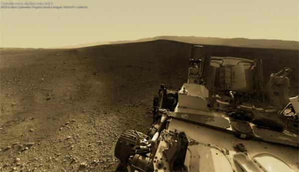Интерактивная панорама Марса