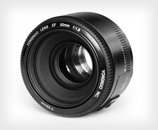 Yongnuo клонирует объектив Canon 50 мм F/1.8 II меньше чем за полцены