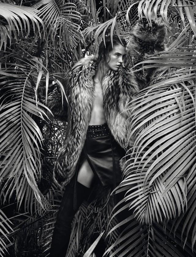 Криста Кобер в фотосессии для Numero #166 август 2015