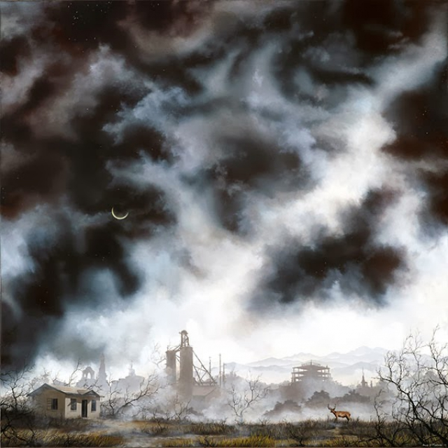 Мрачные и возвышенные картины Брайана Машберна (Brian Mashburn)