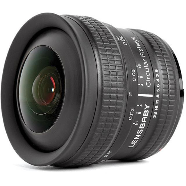 Объектив Circular Fisheye 5.8мм f/3.5 от Lensbaby