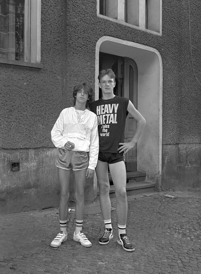 Яркие жители Восточного Берлина 80-х в фотографиях Харфа Циммерманна