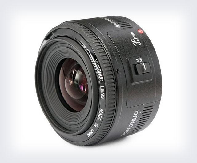 Объектив Yongnuo 35 мм F/2 для зеркальных фотоаппаратов Canon