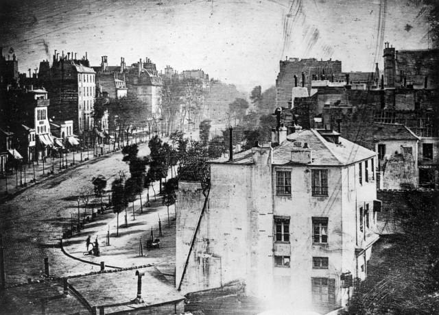 Это самое старое фото Парижа и первая в истории фотография человека