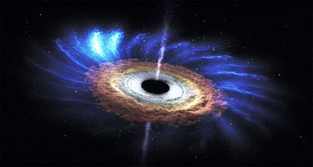 НАСА опубликовало видео о самом загадочном явлении в космосе: как чёрная дыра поглощает звезду