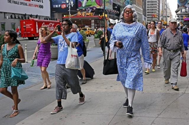 Нравы Нью-Йорка в уличных фотографиях Рича Дохерти