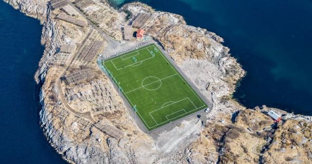 Cамое одинокое футбольное поле в мире