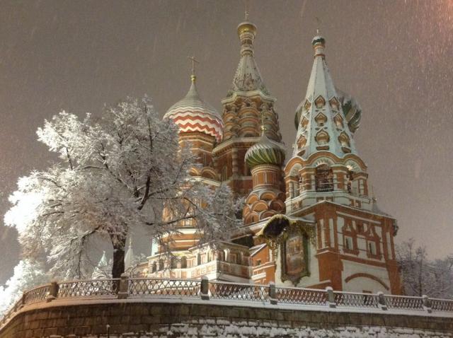 Покровский под снегом