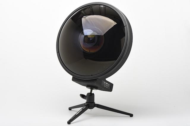 Видеосъёмка с Nikkor 6 мм F/2.8 - объектив который может видеть позади себя