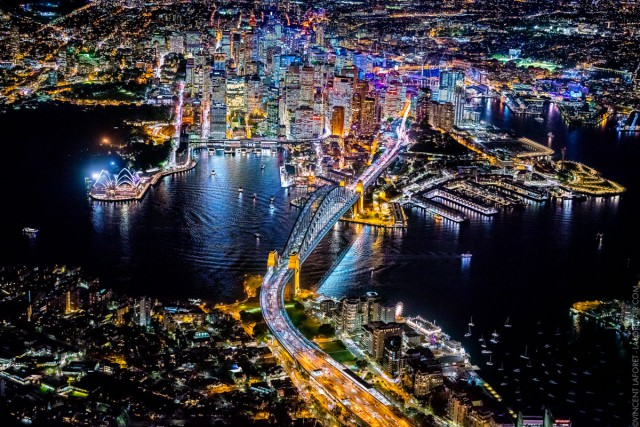 Ночной Сидней