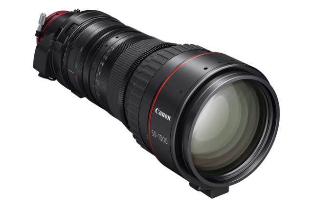 Длиннофокусный объектив Canon CINE-SERVO 50-1000 мм T5.0-8.9 Ultra-Telephoto Zoom за 78 000 долларов