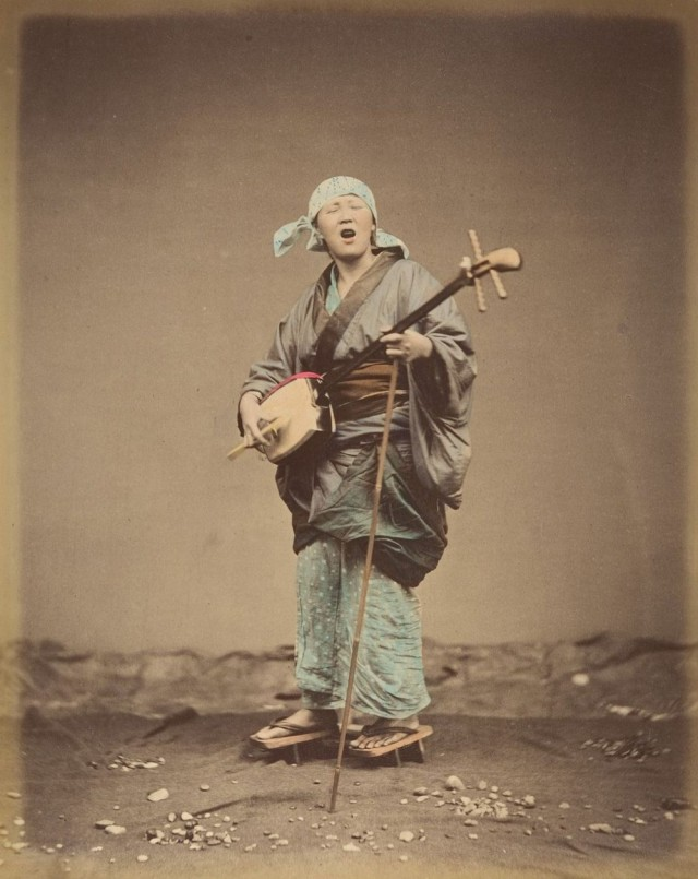 Провинциальная жизнь Японии 1870-х годов в цветных фотографиях