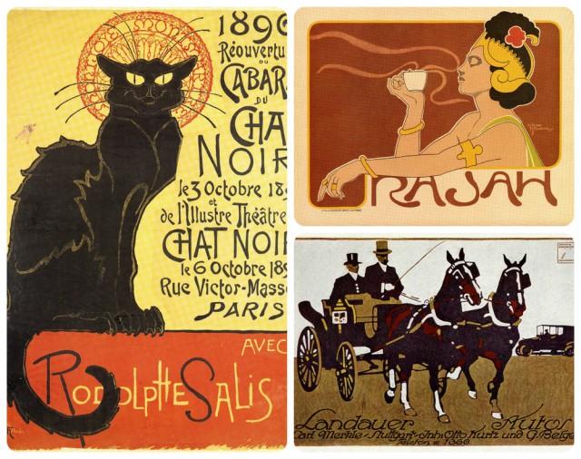 Более 200 оцифрованных шедевров «золотого века» плакатного искусства можно скачать бесплатно