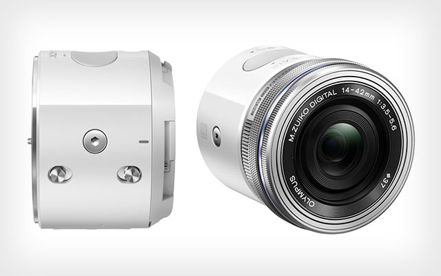 Модульная фотокамера Olympus Air для съёмки со смартфоном