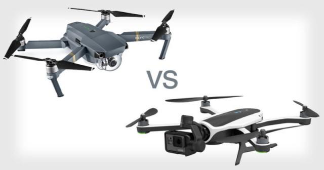 Сравнение DJI Mavic Pro и GoPro Karma – определяем самый крутой дрон