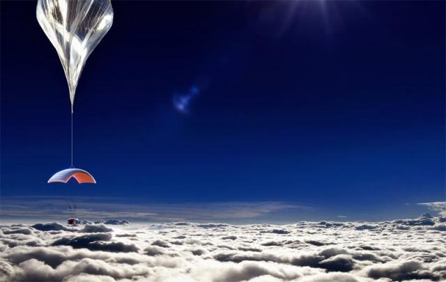 Полет в космос на воздушном шаре
