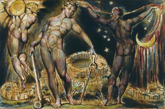 Пророческие иллюминированные книги и фантастические рисунки Уильяма Блейка в архиве онлайн