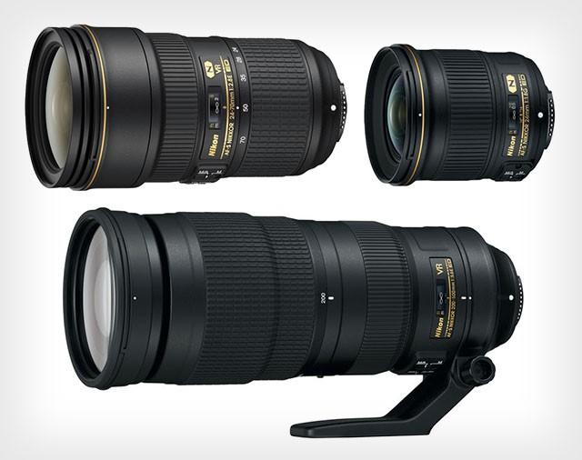 Новые объективы Nikon: NIKKOR AF-S 24-70мм F/2.8E ED VR,  24мм F/1.8G ED и 200-500мм F/5.6E ED VR