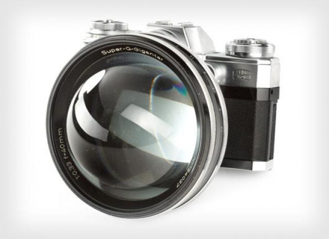 Carl Zeiss Super Q Gigantar 40мм F/0.33: самый светосильный объектив или ирония производителя?