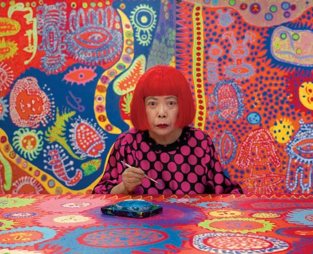 Яёи Кусама – 88-летняя художница, страдающая психическими расстройствами, продаёт картины за миллионы долларов
