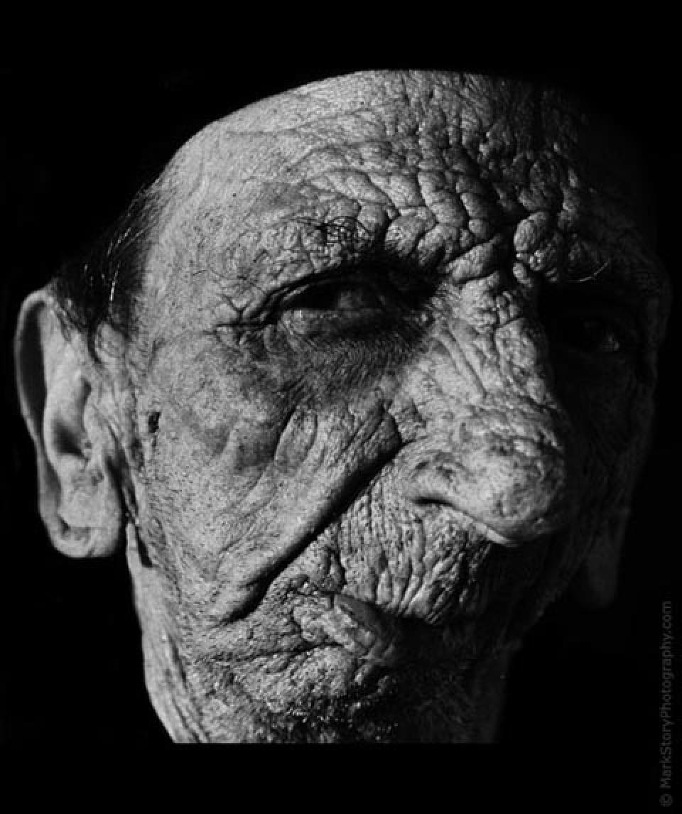 Черно-белые портреты долгожителей от Марка Стори (Mark Story)