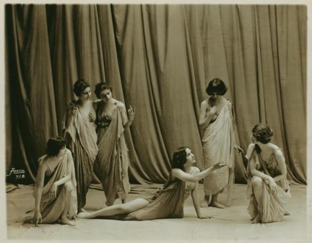 Айседора Дункан – танцовщица будущего в редких фотографиях