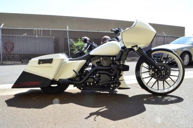 Мощный чоппер в стиле ретро Harley-Davidson от Trask Performance