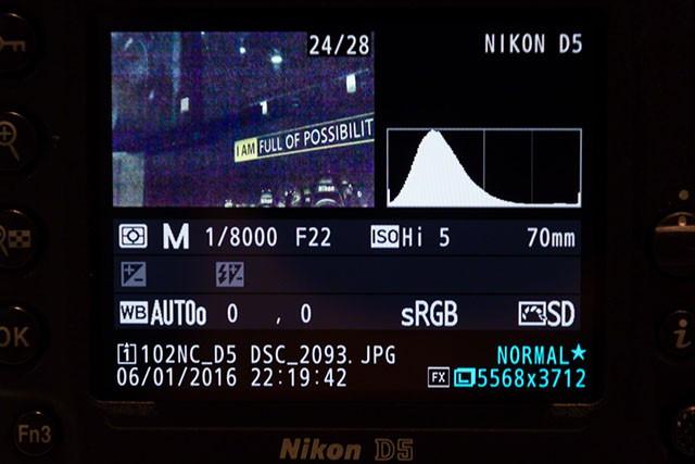 Nikon D5: качество изображения при ISO 3 280 000