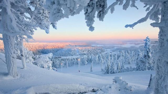 Зимняя Лапландия – самое сказочное место на земле (30 фото)