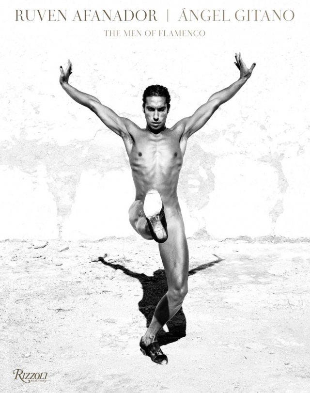 Чёрно-белые портреты мужчин-танцоров от Рувена Афанадора