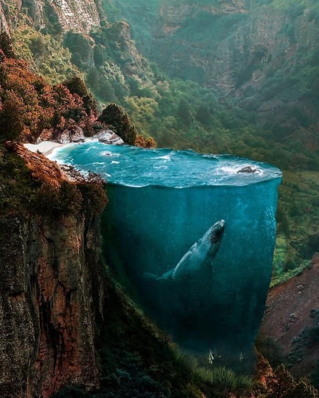 Фотоманипуляции, расширяющие границы человеческого воображения