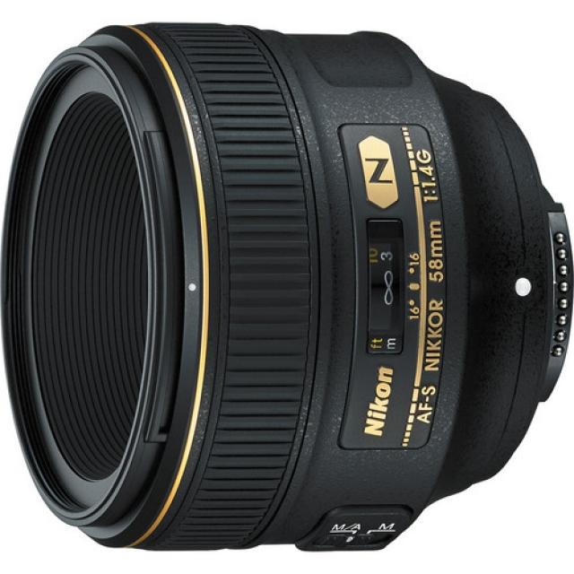 Анонс нового объектива Nikon 58mm f/1.4G
