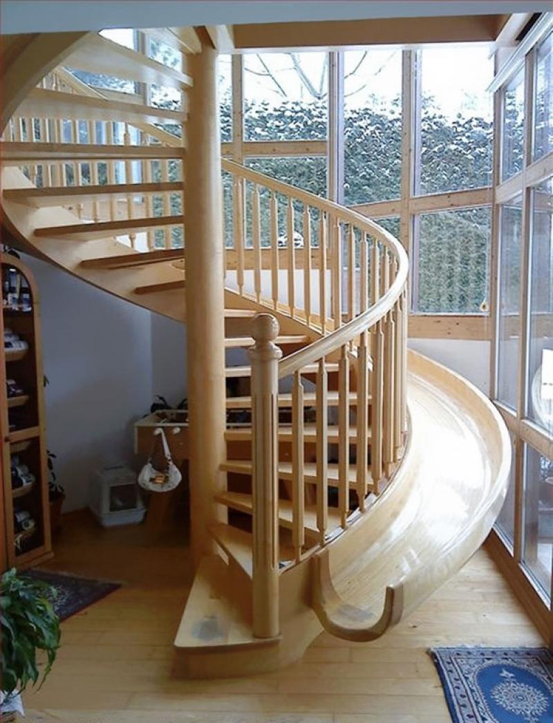 Креативный дизайн для лестницы - 22 идеи