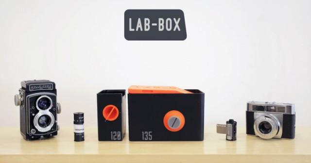 LAB-BOX – фотолаборатория карманного формата для проявки плёнки в любое время