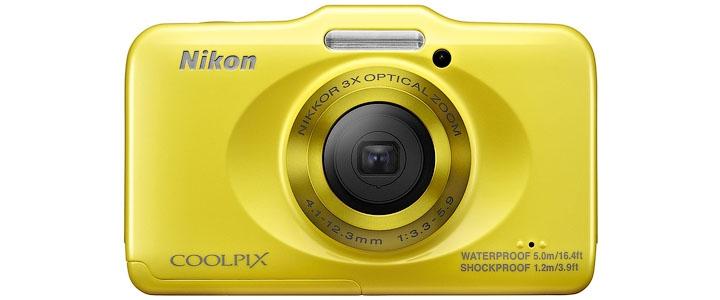 Супер доступный защищенный компактный фотоаппарат Nikon Coolpix S31