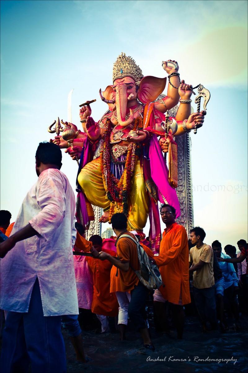 В Индии проходит фестиваль Ганеша-Чатуртхи