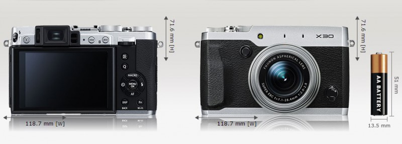 Fujifilm X30 - обзор характеристик и первые впечатления