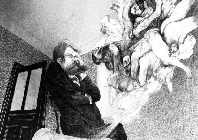 Необычная биография отца психоанализа: Зигмунд Фрейд в иллюстрациях Ральфа Стедмана