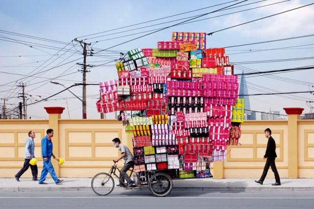 «Тотемы»: фотопроект о «китайской мечте» и человеке, которому предстоит найти свой путь и между тем крутить педали