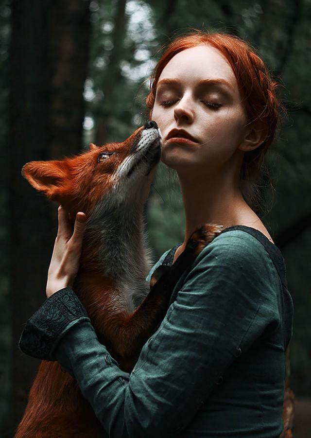 Прирученная рыжая красота в фотографиях Александры Бочкарёвой