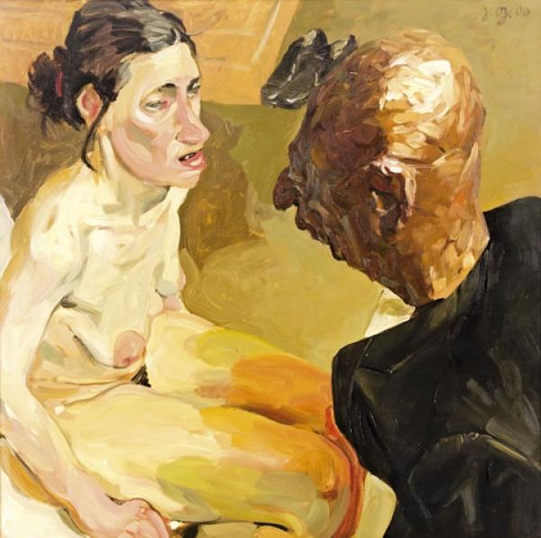 Картины с глубоким самоанализом немецкого живописца Johannes Grützke