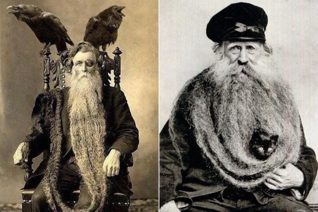 Эпические бороды прошлых лет фильтровали смог и помогали сохранить здоровье