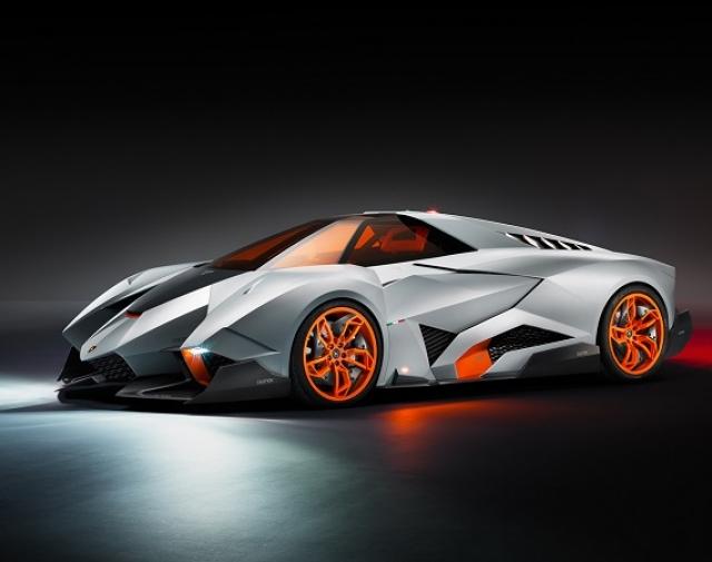 Эгоистичное концептуальное авто - Lamborghini Egoista Concept