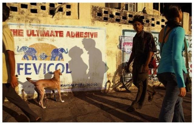 Креативная реклама от уличных фотографов