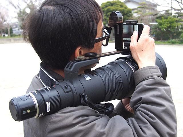 Модульная фотокамера Olympus Air с 300 мм объективом