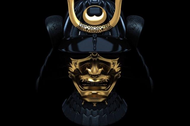 Маска самурая