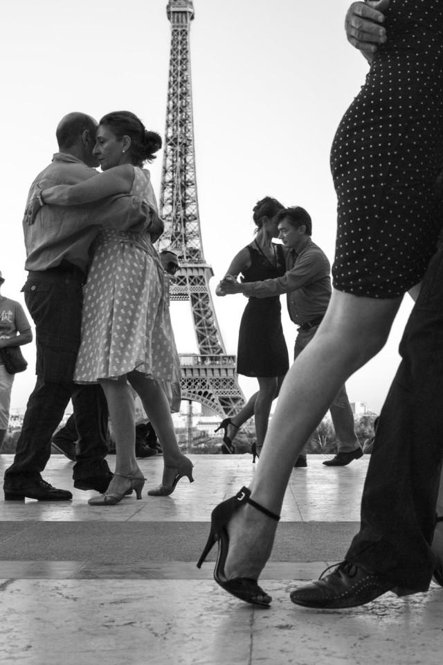 «Французский поцелуй – любовное письмо Парижу». Фотограф Питер Тёрнли