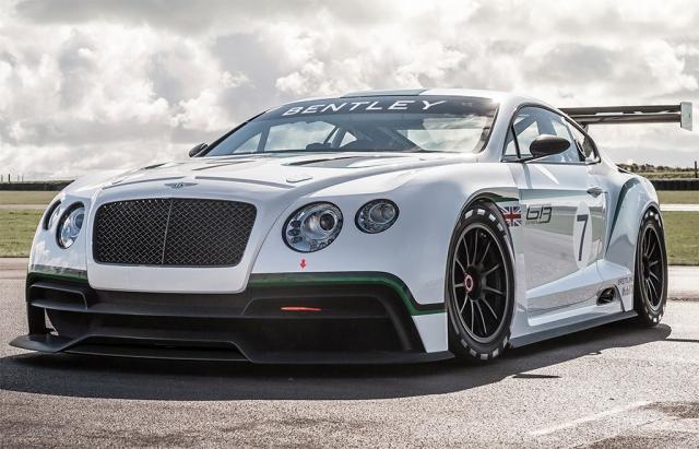 Новый спортивный автомобиль Bentley Continental GT3